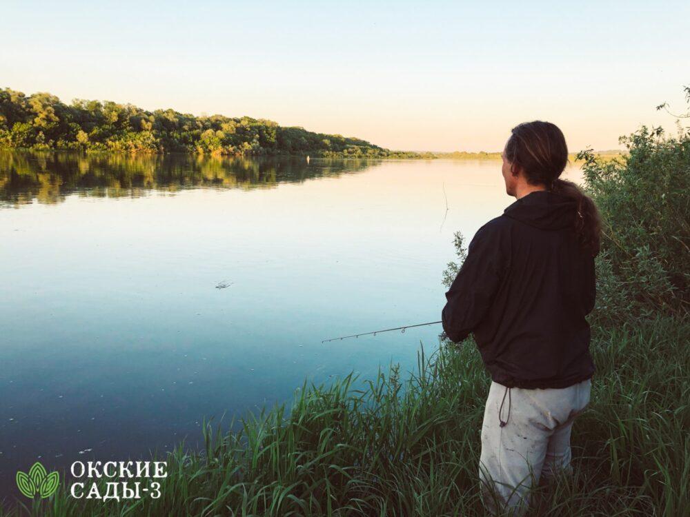 Рыбалка на Оке, в послеке «Окские Сады-3»