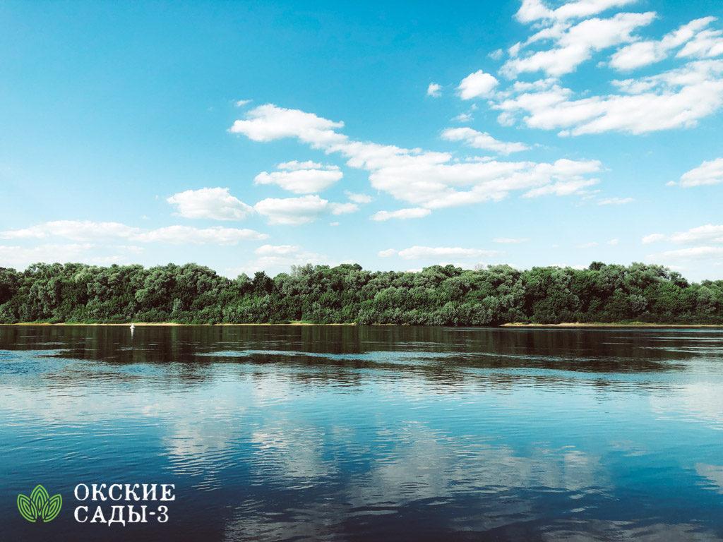 Ока Река Купаться куда поехать участок